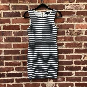 Sanctuary Gray & White Striped Dress XS Sweatshirt